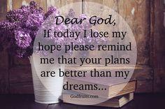 He gives us hope, eternal!
