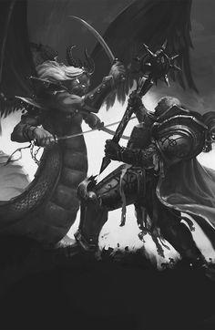 For the Emperor! — Illustrations from the book Horus Heresy: Slaves. The Horus Heresy, Warhammer 40k Art, Space Wolves, Prince, Epic Art, Geek Art, Space Marine, Military Art, Fantasy Artwork