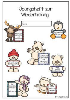 Hier ein kleines Übungsheft für einige Themen der dritten Klasse. Ihr findet darin eine Auswahl an Aufgaben für Deutsch und Mathe. Vielleich...
