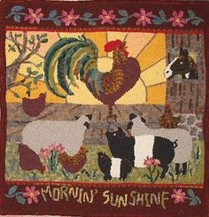 Rug Hooking...another thing I'd like to try and maybe will this fall. ;) someday-i-d-like-to-sew