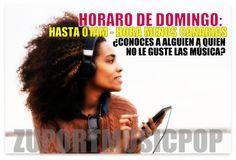 Conoces a #alguien a quien no le guste la #música? Avísale de que estamos hasta las 01am! http://zuportmusicpop.listen2myradio.com/  LOL