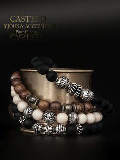 CASTELD toujours le même code, des bracelet homme de caractère #bracelet #homme #bijou #style #tendance http://www.casteld.com/