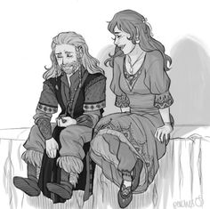 finally found some time away from hovering parents and chaperones to sit and talk like normal dwarf and human courting couples aw :') livestream