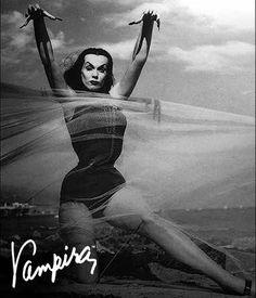 Vampira FuckYeahVampira Haunted Summer, 1954.