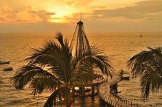 Los Muertos Pier Puerto Vallarta Mexico