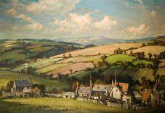 Dorset Landscape by Alfred Egerton Cooper