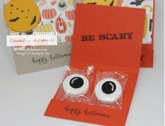 Halloween Lifesaver Matchbook Treat Inside by jillastamps - Cards and Paper Crafts at Splitcoaststampers