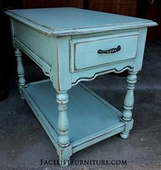 ideas for annie sloan painted furniture blue coffee tables, Blue Coffee Tables, End Tables, Painted Furniture, Annie Sloan Painted Furniture, Distressed Coffee Table, Refinishing Furniture, Furniture, Painted Table, Glazing Furniture