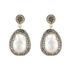 Soru Jewelry say Kate wore their Baroque Pearl Earrings, Gold to the Art Fund Awards and Wimbledon