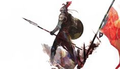 Rhaegar Targaryen, Miya Ashina on ArtStation at https://www.artstation.com/artwork/qP4JP