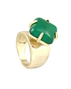 Laramie Ring in Green // Kendra Scott