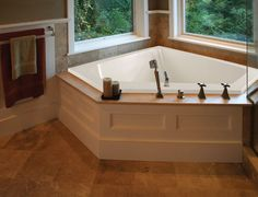 Hydro Systems Designer Courtney x Whirlpool Bathtub Finish: Biscuit, Drain Location: Center Jacuzzi Bathtub, Drop In Bathtub, Bathtub Drain, Soaking Bathtubs, Bath Tub, Spa Tub, Corner Jetted Tub, Corner Tub, Hydro Systems