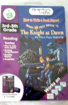 Brand New-  QUANTUM LEAPPAD How to Write a Book Report- Magic Tree House # 2 #LeapFrog