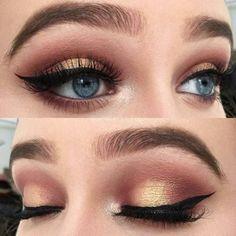 Eye Makeup Inspirations. Eye Makup Looks. Eye Makeup Ideas. #eyemakeup #eyemakeupideas #makeup #makeupporn #makeupaddict
