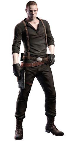 Jake - Characters & Art - Resident Evil 6