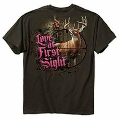#Trenz Shirt              #ApparelTops              #Ladies #Hunting #T-shirt #Love #First #Sight #Buck-S                         Ladies Bow Hunting T-shirt Love At First Sight Buck-S                                                   http://www.snaproduct.com/product.aspx?PID=7138224