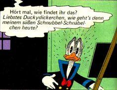 Donald Duck von Carl Barks in der Übersetzung von Erika Fuchs