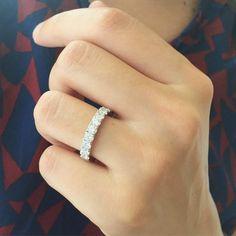 Mariée Alliance Diamant en Or blanc Plus