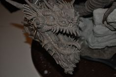 Dragon Wyrm Sculpt WIP 13 by AntWatkins on DeviantArt