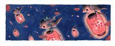 Momonga Lantern Festival by Pocketowl.deviantart.com on @DeviantArt