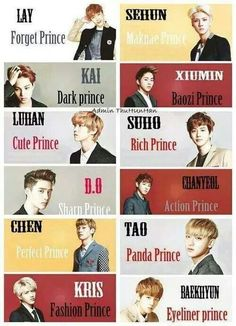 Lol xD Chen, my perfect prince