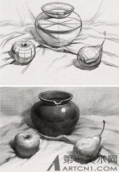 упражнения по рисунку | 28 фотографий