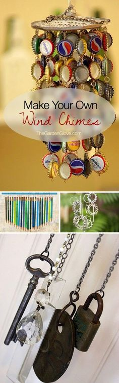 Make Your Own Wind Chimes                                                                                                                                                      More