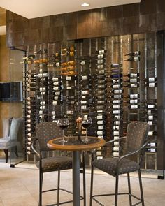 Wine Cellar Gallery: Wine Cellars » Modern/Contemporary