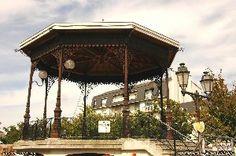 Le kiosque à musique Chatel, Paris, Monuments, Gazebo, Photos, Outdoor Structures, Kiosk, Dance In, Tourism