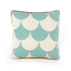#Nobodinoz #kussen Joe green scales #cushion #kissen #coussin #interior #decoration ##kidsroom #littlethingz2