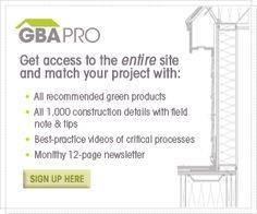 GreenBuildingAdvisor.com | Designing, Building and Remodeling Green Homes