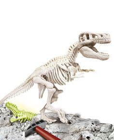 Ciencia y Juego - Arqueojugando T-Rex fluorescente, juego educativo (550326): Amazon.es: Juguetes y juegos