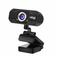 EIVOTOR HD 720P USB Pro Webcam 1080p Widescreen Video Calling Recording w// Micro