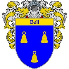 Bell Coat of Arms   namegameshop.com has a wide variety of products with your surname with your coat of arms/family crest, flags and national symbols from England, Ireland, Scotland and Wale