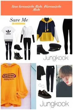"""""""Outfits inspired by """"Save Me"""" by BTS (Requested by anon!) """" All items in this set can be found on my Polyvore account here! MASTERLIST bts Outfits"""