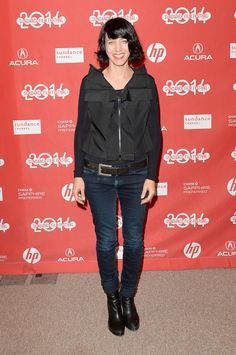 """Actress Carla Azar attends the """"Frank"""" premiere at Eccles Center Theatre during the 2014 Sundance Film Festival on January 17, 2014 in Park City, Utah."""