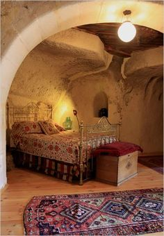 A cave home in Turkey. Photo: Jan McGready for The New York Times