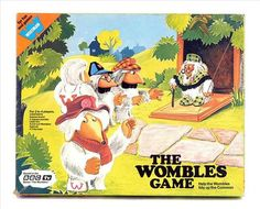 Wombles - they recycle everything! Aim of game is to collect newspapers for Uncle Bulgaria - very environmentally friendly! - had this game too! Retro Sweets, Bbc Tv, To Collect, Do You Remember, Bulgaria, Recycling, The Past, Games, Toys