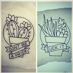Succulent tattoo!                                                                                                                                                      More