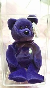 Limited Rare Princess Diana Ty Beanie Baby Edition Perfect Condition Retired in Toys & Hobbies, Beanbag Plush, Ty Rilakkuma, Ty Beanie, Beanie Babies, Diana Memorial, 90s Toys, Perfume, All Things Purple, My Favorite Color, Favorite Things
