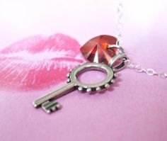 key to my heart necklace $36