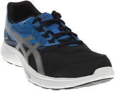 7f06ae3bced351 ASICS Stormer Running Shoes - Black - Mens