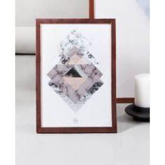 Organic Square plakat med ramme 30 x 40 artwork
