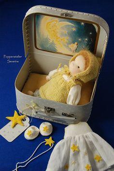 Startaker Waldorf doll 8 inch/20 cm by SeverineBakker on Etsy