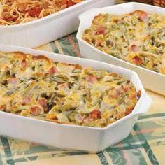 Ham and Asparagus Casserole Recipe