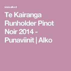 Te Kairanga Runholder Pinot Noir 2014 - Punaviinit | Alko
