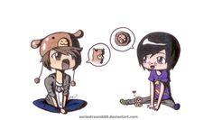 Cutest fan art of Dan & Phil <3