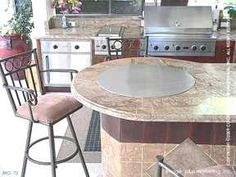 Outdoor Teppanyaki Kitchen | Hibachi Grilling Islands | Cooking Spaces