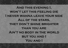 """You and I"" ~ John Legend"