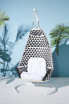Slide View: 1: Tahiti Indoor/Outdoor Hanging Chair #HangingChair
